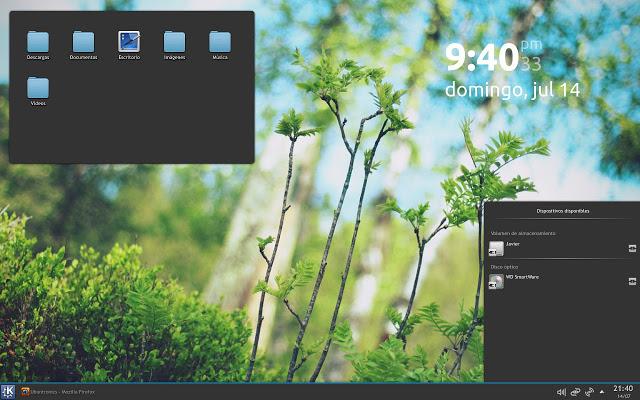 Compartiendo… ]Plasma Theme para KDE inspirado en Arch Linux